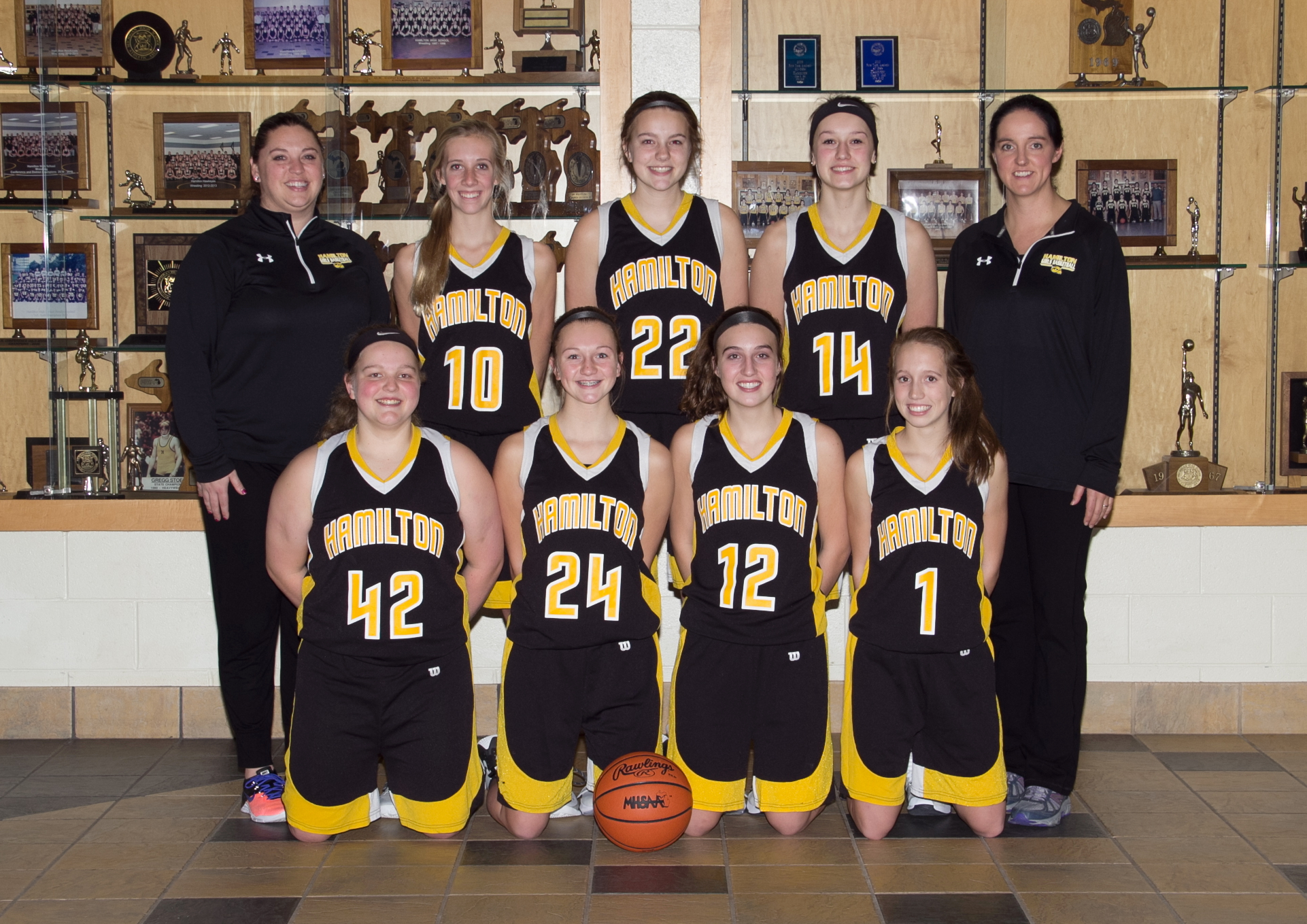 View large photo of JV Girls Basketball
